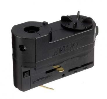 Nordic Aluminium Stromschienensystem XTSA 68L-2, 3-Ph.-Universaladapter, Schwarz, adapter black