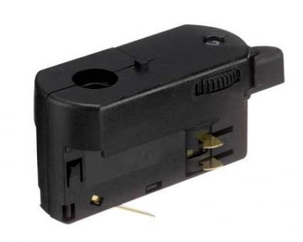 Nordic Aluminium Stromschienensystem GA 69L-2 Adapter, Schwarz, black