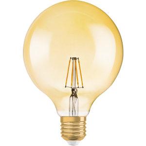 Osram LED-Lampe 1906LEDGLOBE6,5W/824230VFILGDE27 / EEK: A+