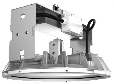 Posco LED Baylight BL085 85W/840 4000K 111° dim 1-10V 11000lm IP65 ENEC, ohne Reflektor